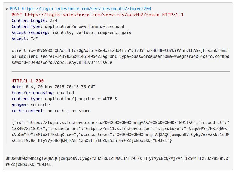 Webscript log