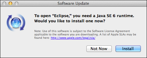 Install JRE 6 for Eclipse