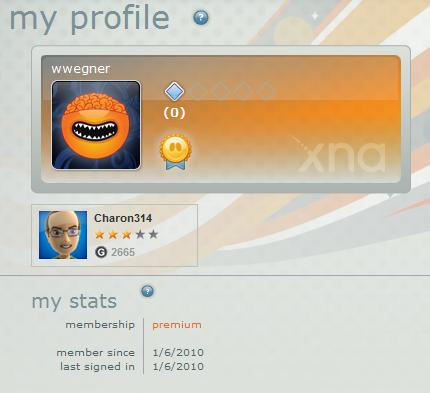 My Profile - Premium