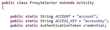ProxySelector