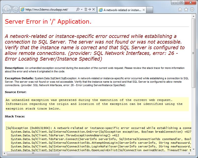 No SQL Express